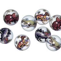AMBDI - Animarbles - Dinosaur Bag of Shooter Marbles (24 per bag)