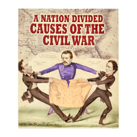 BKCWND - A Nation Divided (Causes Of the Civil War) Softback Book
