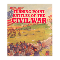 BKCWTP - Turning Point Battles Of the Civil War Softback Book