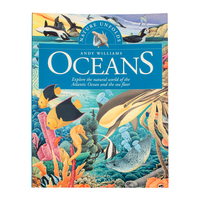 BKOS - Nature Unfolds OCEANS Softcover Book