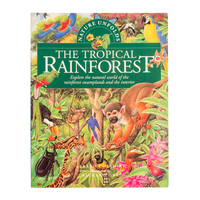 BKTRS - Nature Unfolds RAINFOREST Softcover Book