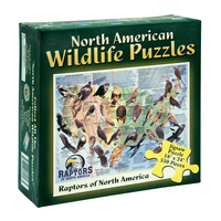 BPBP - North American Wildlife Jigsaw Puzzle - Raptors