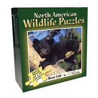 BPPNB - North American Wildlife Jigsaw Puzzle - Bear Cub