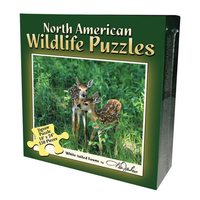 BPPND - North American Wildlife Jigsaw Puzzle - Fawn