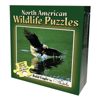BPPNE - North American Wildlife Jigsaw Puzzle - Bald Eagle