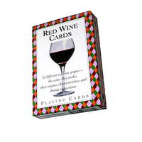 CDWR - Red Wines Card Deck