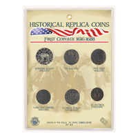 CRCAFC - Replica Coin Set - First Coinage of Colonial America