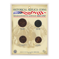 CRCAMC - Replica Coin Set - Massachusetts Coinage