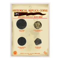 CRCASP - Replica Coin Set - Colonial American Spanish Coinage