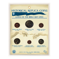 CRCBOT - Replica Coin Set - Coins of the Bible: Old Testament