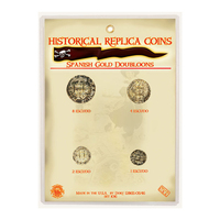 CRCSD - Replica Coin Set - Spanish Gold Doubloons