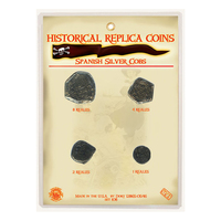 CRMRSS - Replica Coin Set - Spanish Silver Cobs