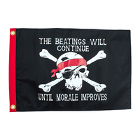 FBC - Beatings Will Continue Pirate Flag