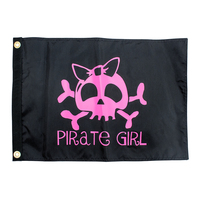 FPG - Pirate Girl Pirate Flag