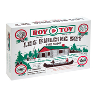 RTMBC - Roy Toy Log Cabin in a Box (37 pieces)