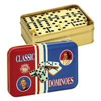 TTD - Dominoes in a Classic Toy Tin