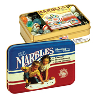 TTM - Marbles in a Classic Toy Tin